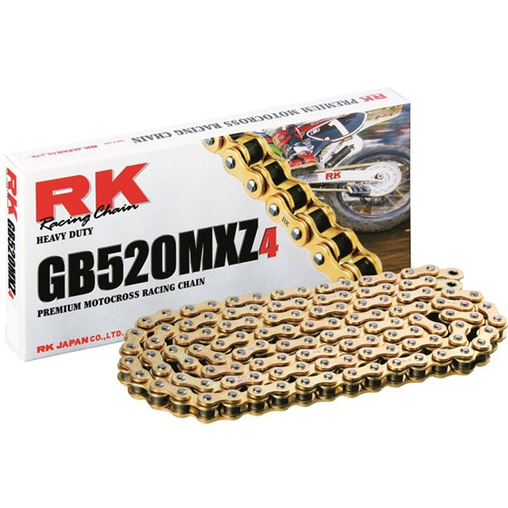 RK GB520MXZ4 Offroad Chain Gold +CL (Connect.link)