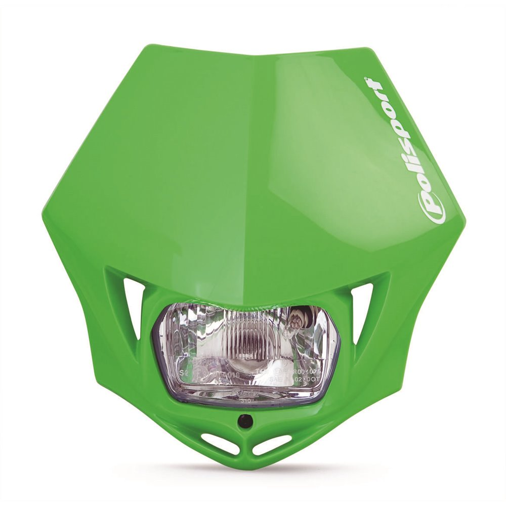 Polisport MMX HEAD LIGHT green