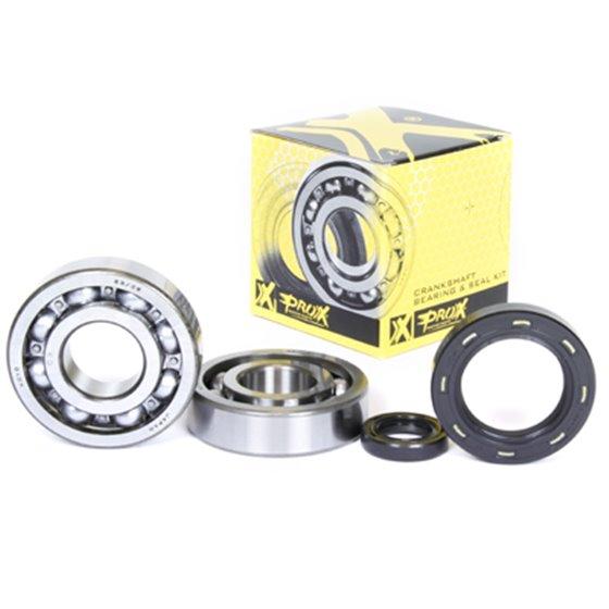 ProX Crankshaft Bearing & Seal Kit CR250 '84-91+CR500 '82-01