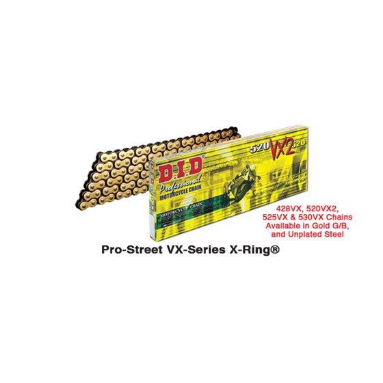 D.I.D 520VX2 Chain+Connecting link (FJ)
