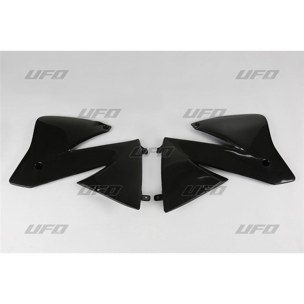 UFO Radiator cover KTM125-380EXC 2T,400-525 4T Black 001