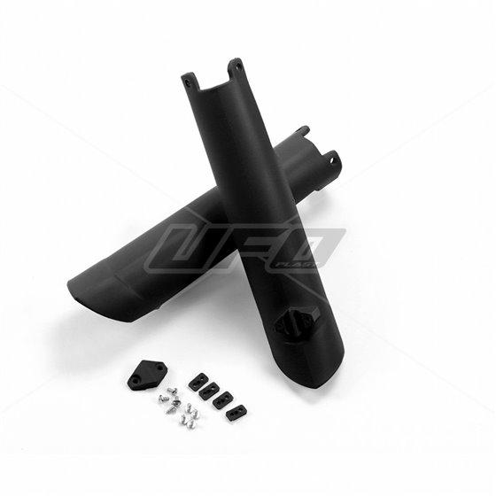 UFO Fork slider protectors HVA TC/FC 125-450 15-, TE/FE 125-501 16- Black 001