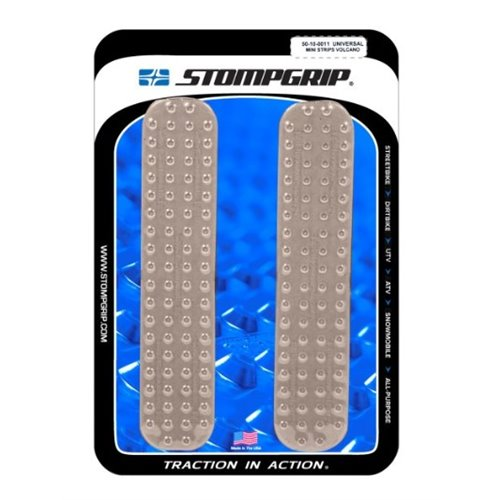 Stompgrip Universal Mini Strips - Volcano : Clear
