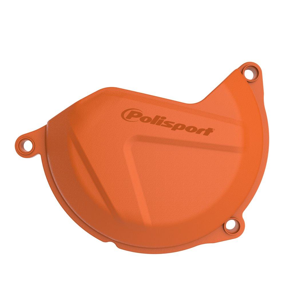 Polisport clutch cover protection SX-F 450/500 13-15, EXC 450/500 12-16 orange