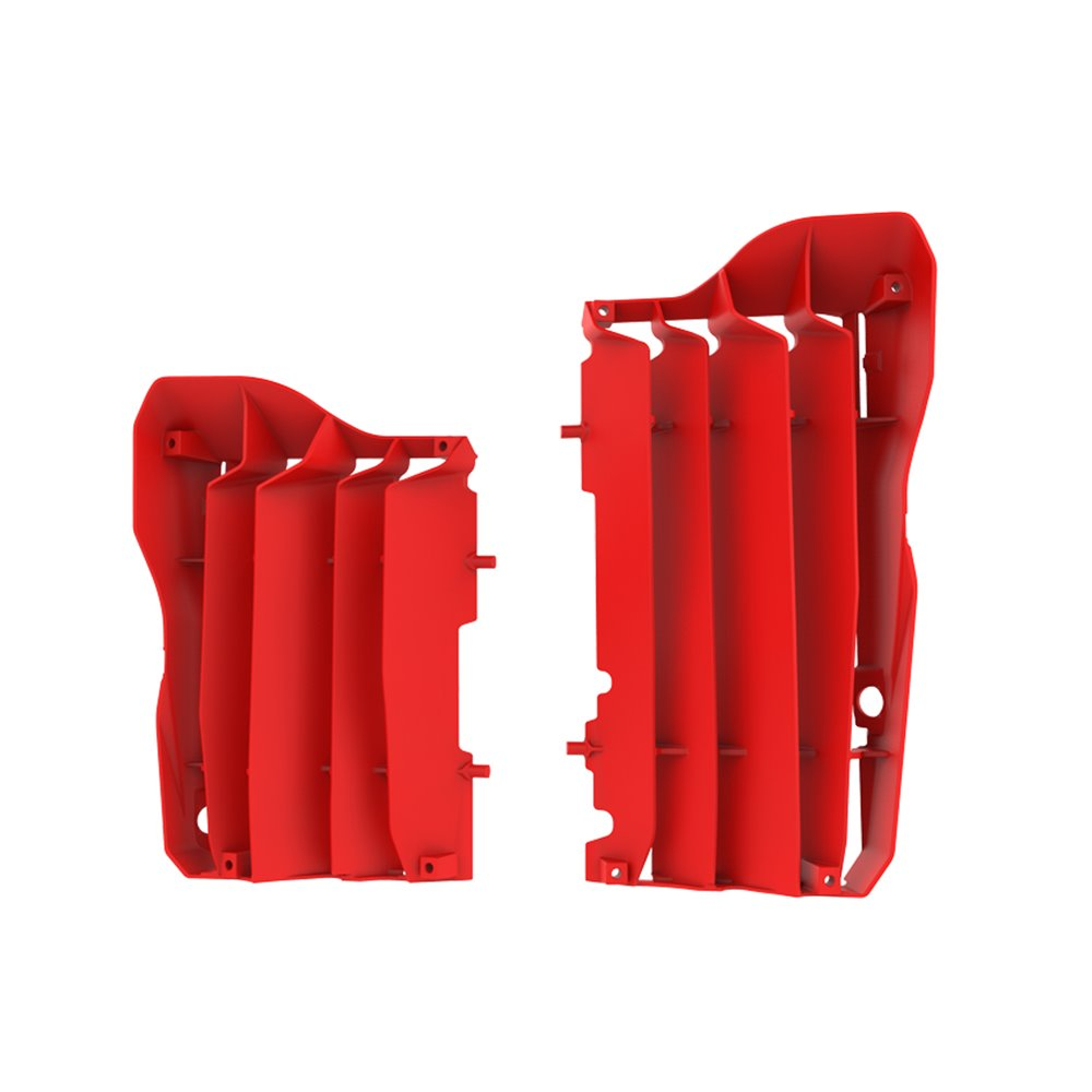 Polisport radiator louvers CRF450R 17 röd