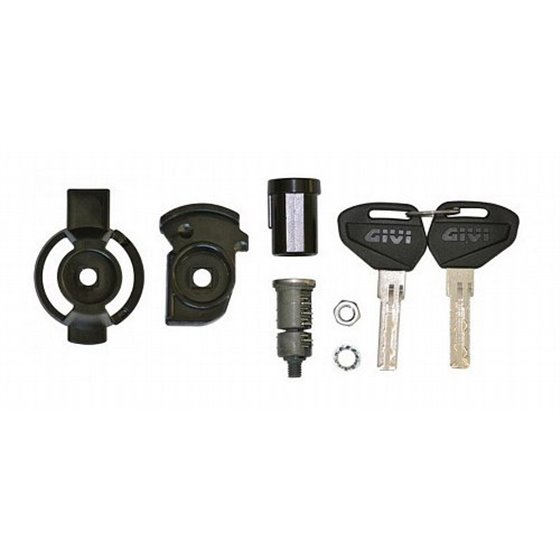 Security Lock key, including bush and