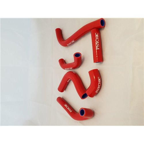 Psychic silicone hose set red CRF450R 02-04