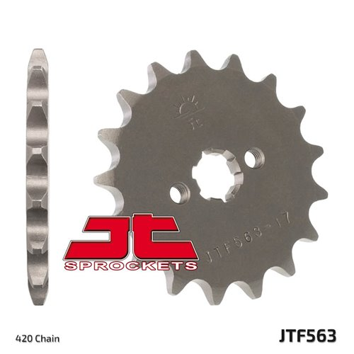 Front sprocket 563-11 JR50 78- 11tC45. Chain 420