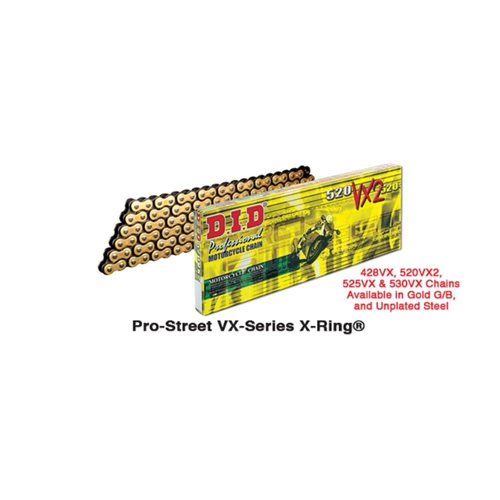 D.I.D 520VX3 G&B Connecting link rivet type (ZJ)