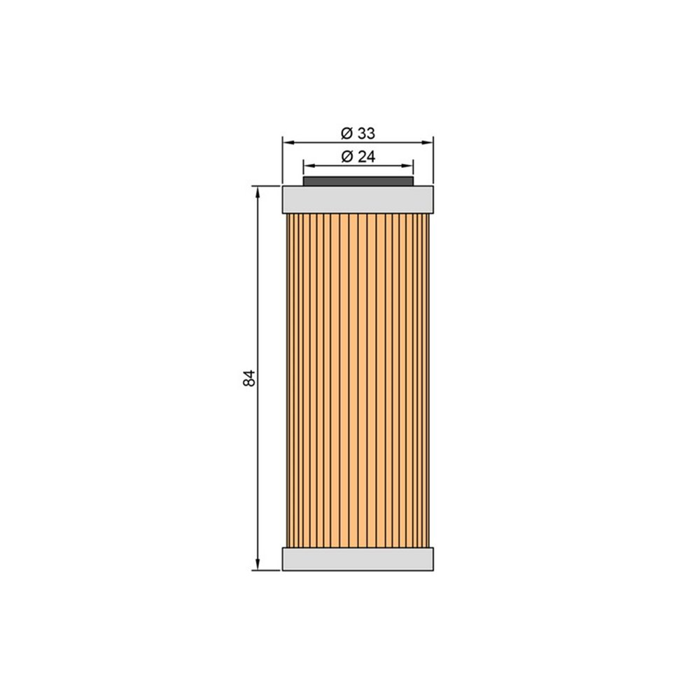 Oilfilter TwinAir Oil cooler SXF 350 11-15,SXF450 09-12,HVA FC,FE250/350 14-15