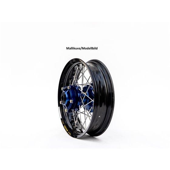 * Haan wheel SX&SXF&EXC MODELS 95-15 17-5,00 BLACK RIM/BLUE HUB