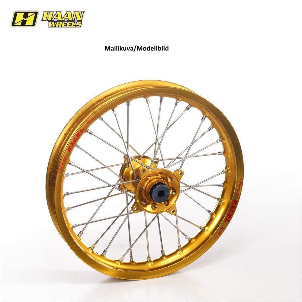 * Haan wheel SX&SXF MODELS 95-12 17-4,25 GOLD HUB/GOLD RIM