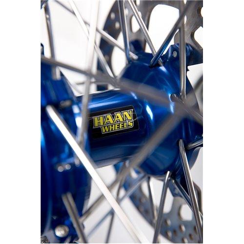 * Haan wheel Sherco 18-2,15 blue rim/ blue hub / black spokes