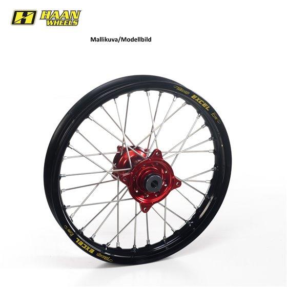 Haan wheel KX 250 / KXF 450 03-14 19-2,15 RED HUB/BLACK RIM