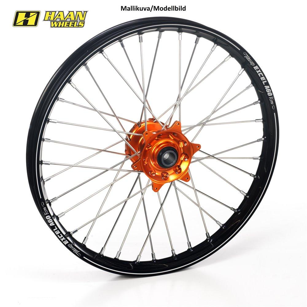 * Haan wheel KTM SX/SX-F 15 21-1,60 ORANGE HUB/BLACK A60 RIM