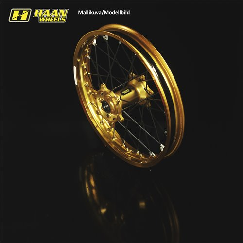 * Haan wheel SX&SXF 15-17 /EXC MODELS 16- 17-3,50 GOLD RIM/GOLD HUB