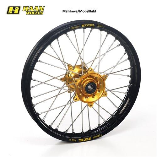Haan wheel YZ80/85 93- 16-1,85 GOLD HUB/BLACK RIM