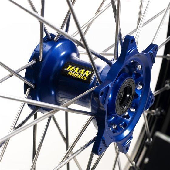 *Haan wheel SX85 04- 16-1,85 BLACK RIM/BLUE HUB