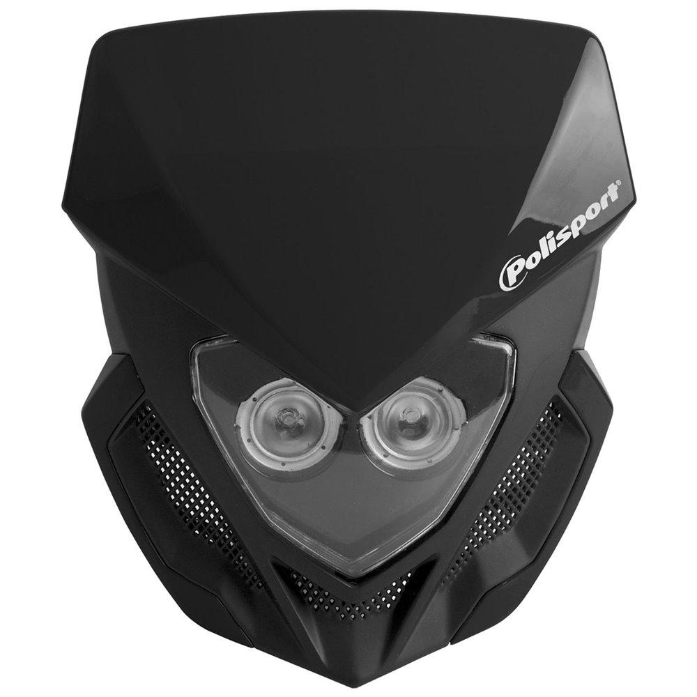Polisport headlight Lookos battery version black