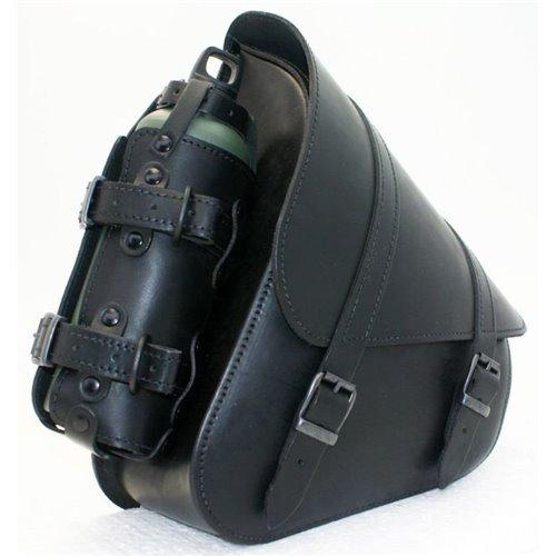 *Swingarm Bag with bottleholder H-D Softail Black