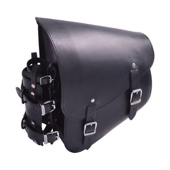 *Rear Swingarm Bag with bottleholder H-d Softail