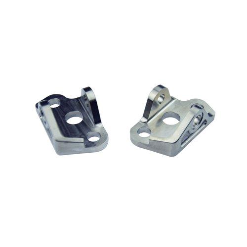 Scar Titanium Foot Peg Mount Brackets - titanium Gr5-Ti