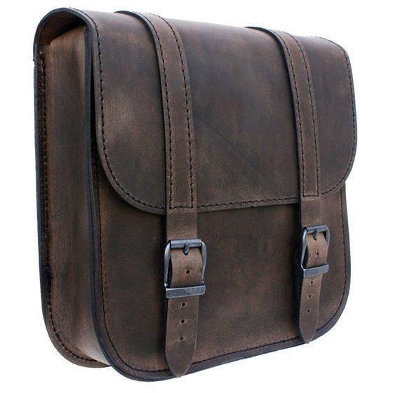 *Swingarm Bag Straight Softail Brown 2018