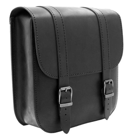 *Swingarm Bag Straight Softail Black