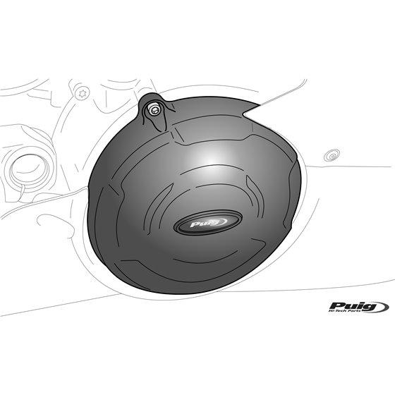 Puig Kit 3 Caps Engine Cover Bmw S1000R/S1000Rr 09'-16'