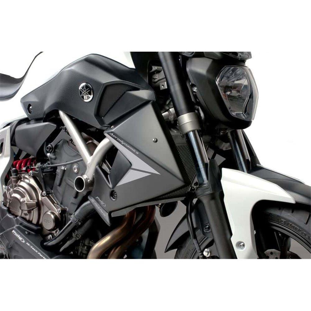 Puig Radiator Caps Mt07 14'-17' C/Black