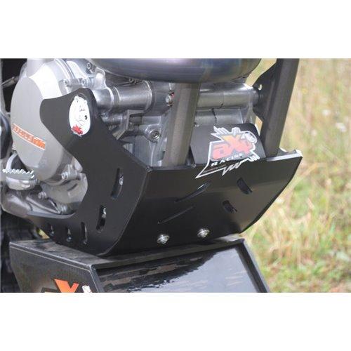 AXP Skid Plate Black Ktm SXF450 13-15