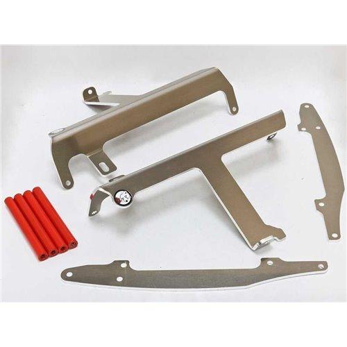 * AXP Radiator Braces Red spacers Yamaha YZ250F-YZ450F 09