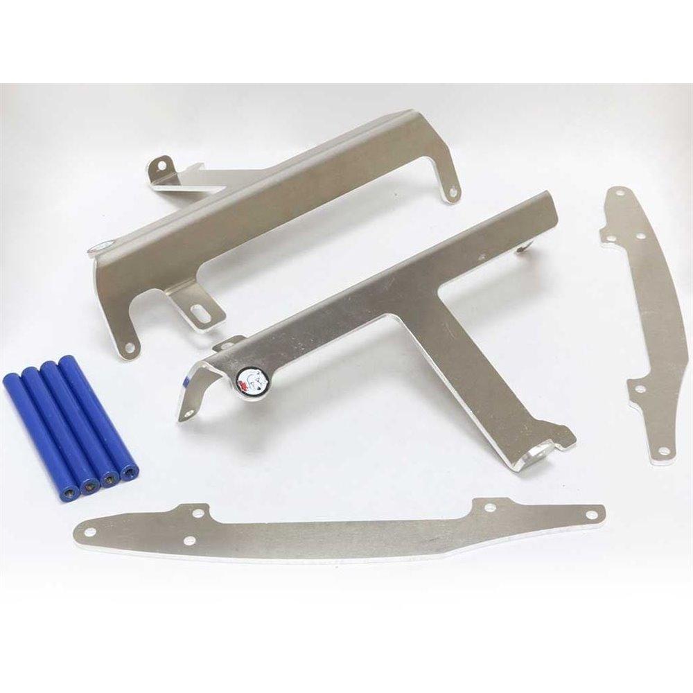* AXP Radiator Braces Blue Spacers Yamaha YZ250F-YZ450F 09