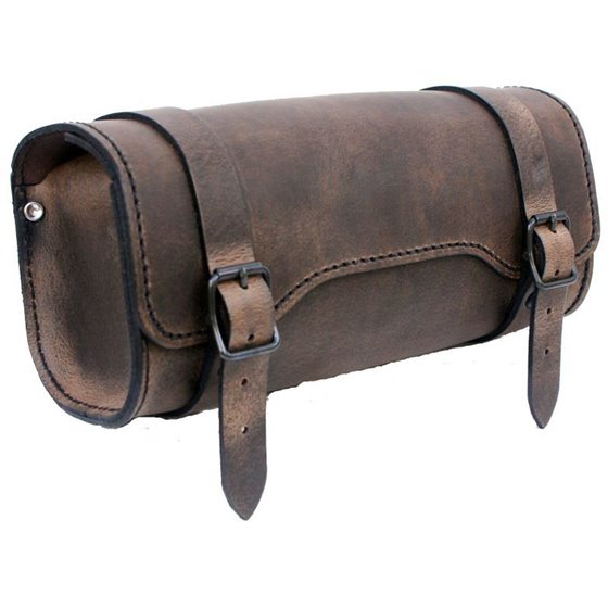 *Toolbag square brown Leather