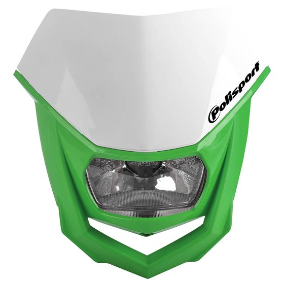 Polisport HALO Headlight White/green