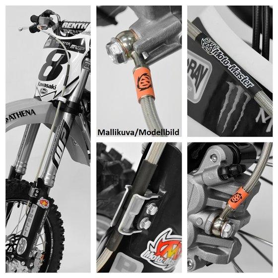 Moto-Master Brake line front WHT