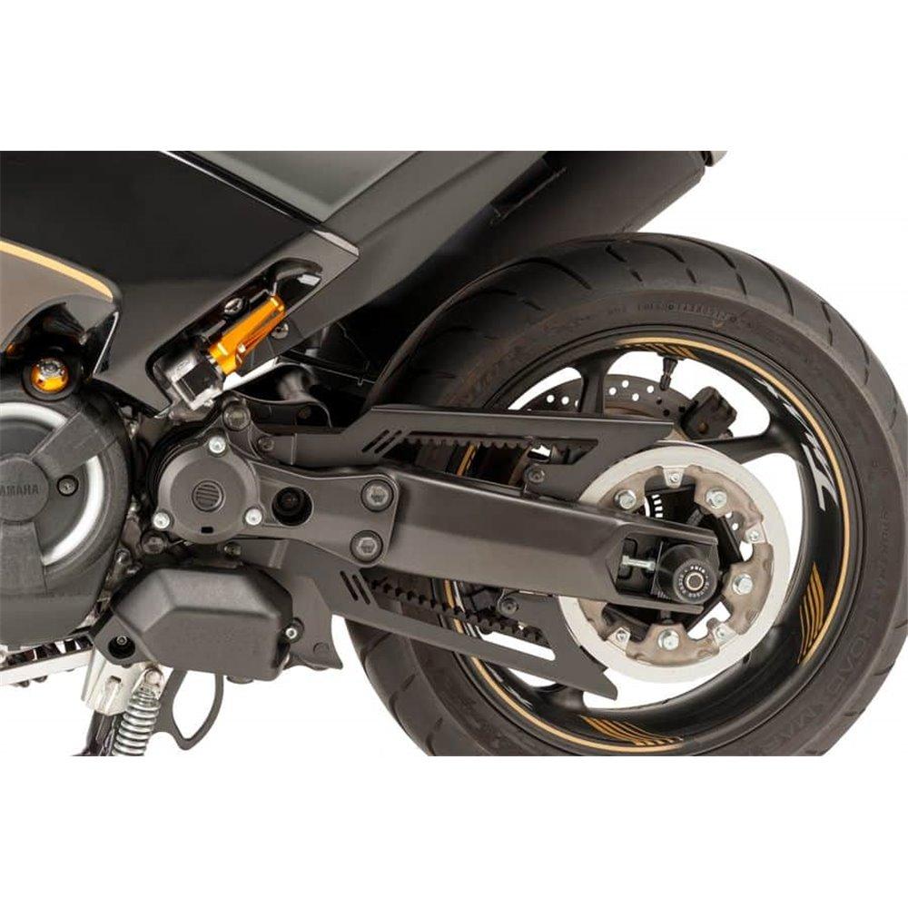 Puig Shaft Cover Yamaha Tmax 530/Sx/Dx 17' C/Black