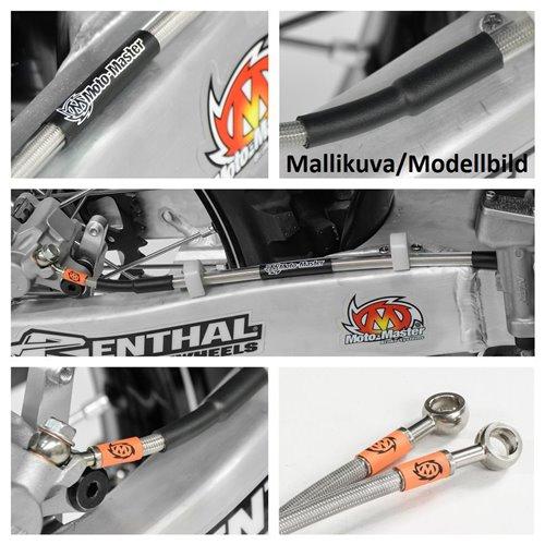 Moto-Master Brake line rear WHT