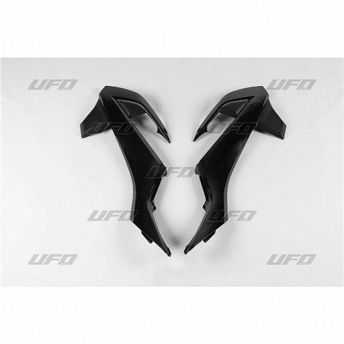 UFO Radiator covers KTM65 16- Black 001