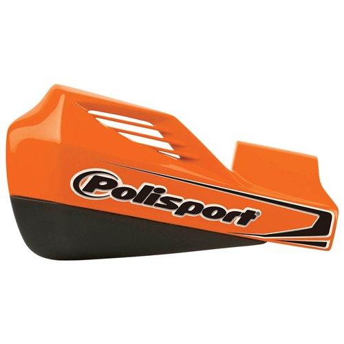 Polisport handguard MX Rocks Universal orange w/aluminium mounting kit Orange KT