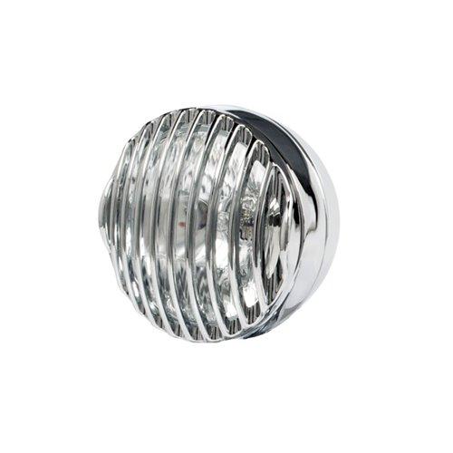 *Steampunk trim ring 4,5 inch, chrome (2pcs.)