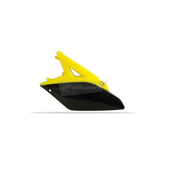 Polisport side panels Suzuki RMZ250(10-18) OEM color yellow rm01/black