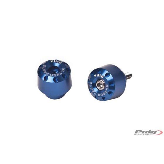Puig Bar End Aluminum Bmw R1200R 15' C/Blue