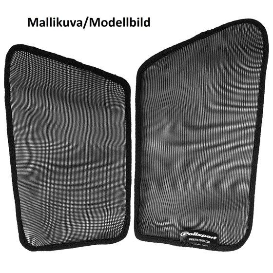 Polisport mesh for radiator louvers RM-Z250 10-18 Black