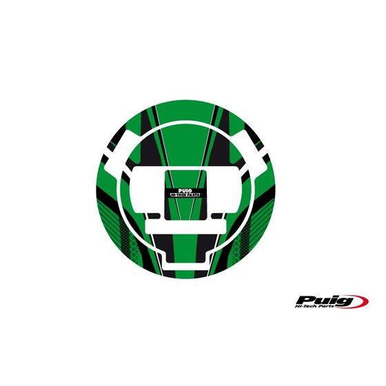 Puig Fuel Cap Cover Radical Bmw 07-13 C/Green