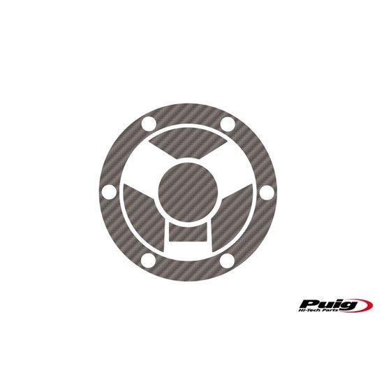 Puig Fuel Cap Cover Mod.Extreme Triumph C/Carbon