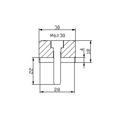 Puig Adapter Rear Mirror Hi-Tech Iv Aprilia Shiver 901