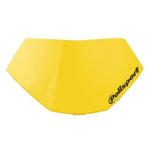 Polisport headligh Halo removable number plate Yellow RM 01