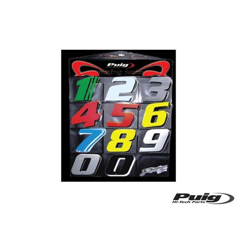 Puig Number 0 115Mm. C/Silver 5 Units