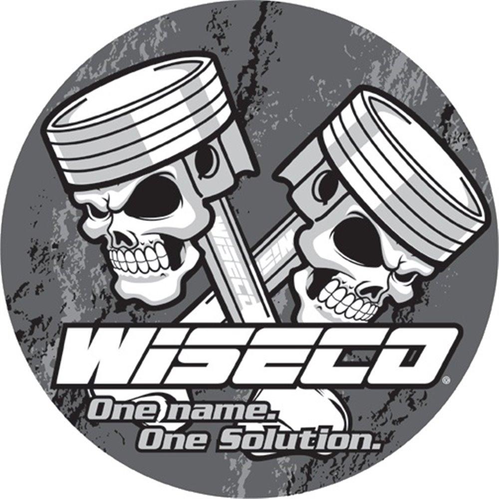 Wiseco Pin Locks Flat Wire Spiral (4/Pkg)